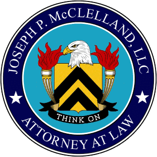 Joseph P. McClelland, LLC Law Logo