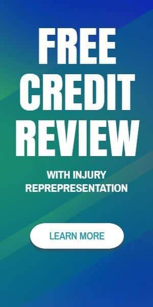 free credit review with injury representation