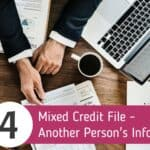 Mixed Credit File