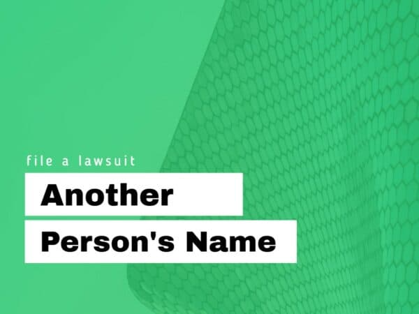 Another person's name