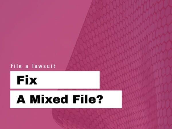 Fix mixed file