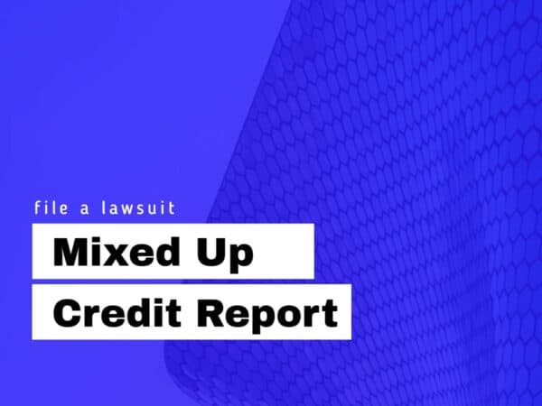 mixed up credit report